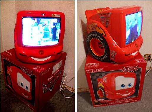 超可愛的CARS電視機