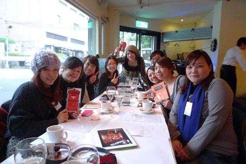 「GO!GO!JAPAN!來去日本玩 ☆ 社團」第一屆交流會 IN  LULU 餐廳