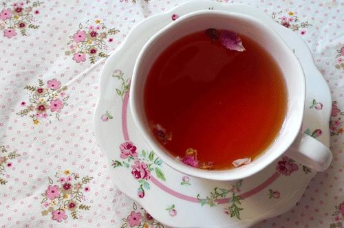 超浪漫的玫瑰花下午茶
