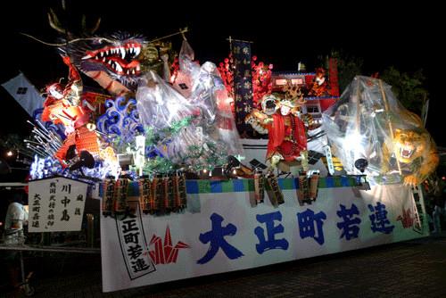 日本東北・山形縣旅遊推薦④ 2011年新庄祭典 (上) 8月24日宵まつり