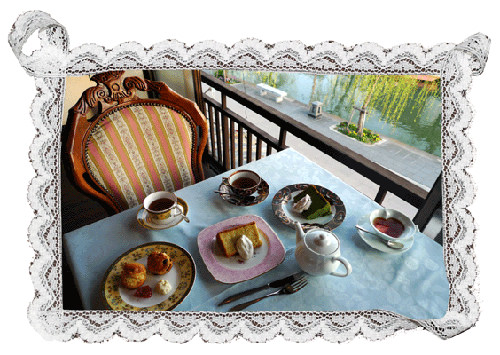 福岡旅遊推薦  ★  柳川人氣咖啡廳「紅茶的店」