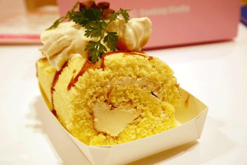 大阪旅遊新體驗 ★ 花500日圓在日本 ABC 料理教室學作焦糖栗子卷心蛋糕