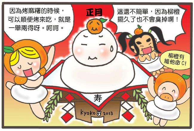 日本新年必備正月裝飾品 ★ 鏡餅 ★