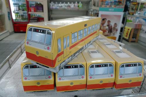 福岡土產  ★  西鐵特急2000型電車造型餅乾盒