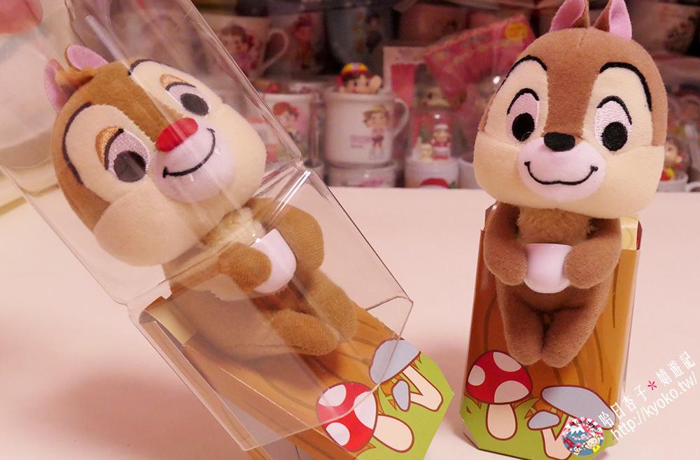 午後的紅茶奶茶+奇奇&蒂蒂玩偶・迪士尼設計寶特瓶組 | 日本 2018 話題商品 ・ New Days & KIOSK 限定發售