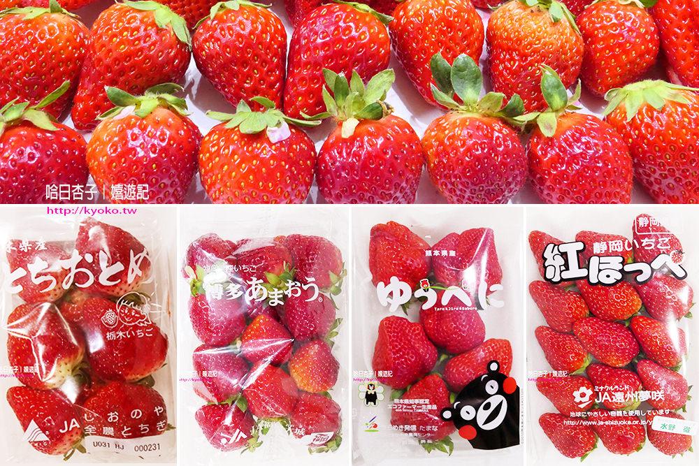 觀光日語   │  15種日本人氣草莓品種的日文唸法  │  美食篇(7)