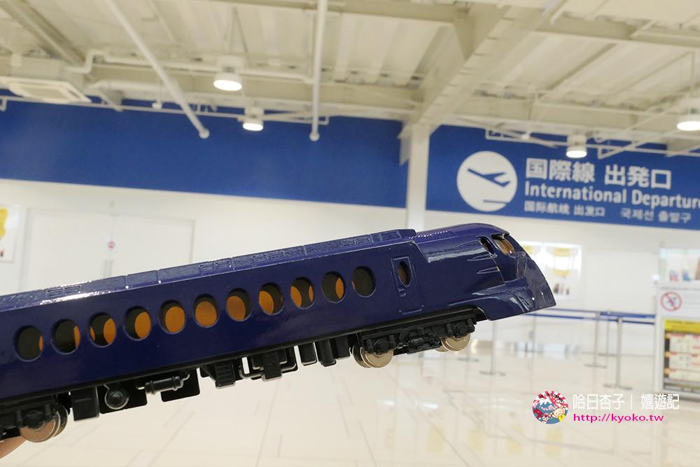 大阪土產 | 南海 Rapi:t ・N規比例車頭模型
