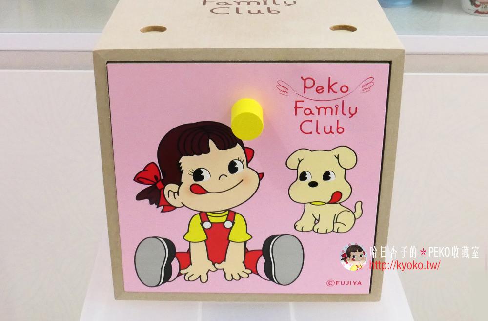 不二家PEKO | 抽屜木箱 ・ペコちゃん引き出し木箱 |  非賣品・PEKO FAMILY CLUB 集點贈品| (雜貨小物系列21)