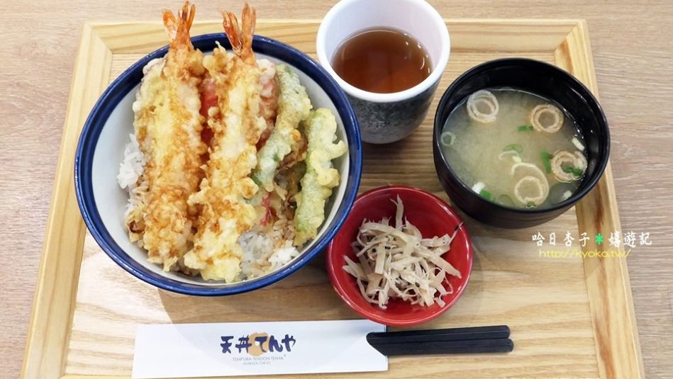 天丼てんや   てんや(天雅)天丼・黑虎蝦裹酥脆麵衣+傳統醬汁實在是太美味   微風北車店   在台日系連鎖店食記-6