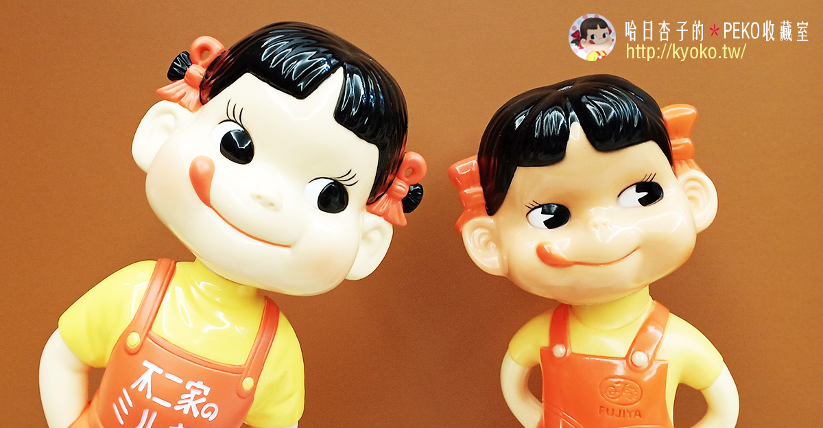 不二家 PEKO|不二家創業100周年記念+昭和懷舊風搖頭 PEKO 醬娃娃| レトロ首振りペコちゃん人形 | 2019年12月(收藏娃娃系列22)