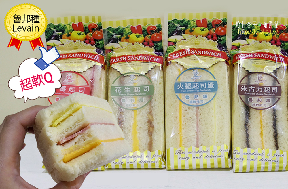 哈肯鋪 | 魯邦種老麵・極軟三明治 | 有夠軟 ! ! 一吃包你愛上的超Q彈吐司口感